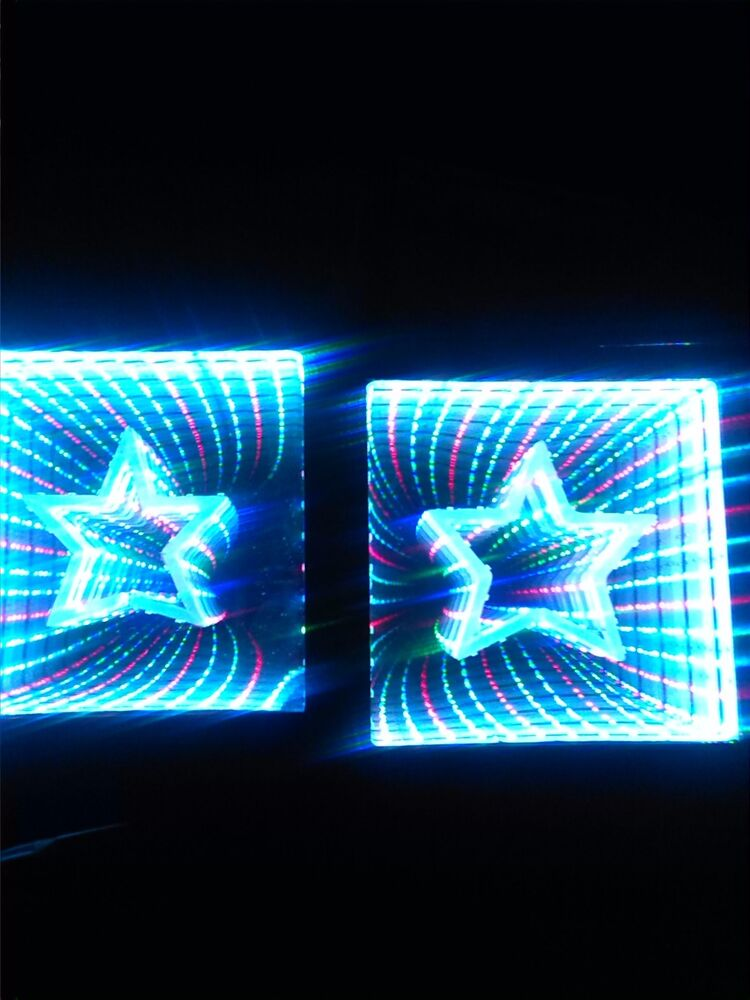 Infinity Mirror Led Picture Frame Dimensional