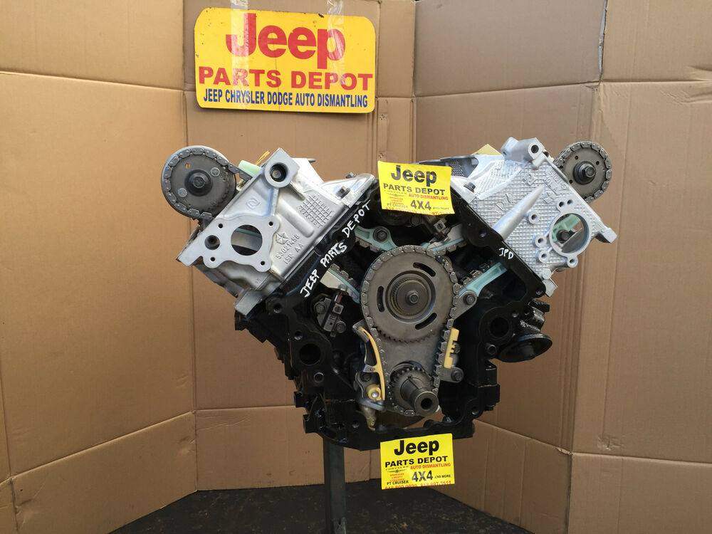 2001-2004 JEEP GRAND CHEROKEE 4.7L ENGINE H.O. HIGH OUTPUT ...