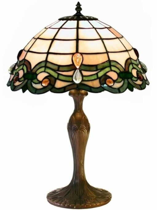 Decorative Lamp Shades : Tiffany style glass table lamp lamps shade decorative desk