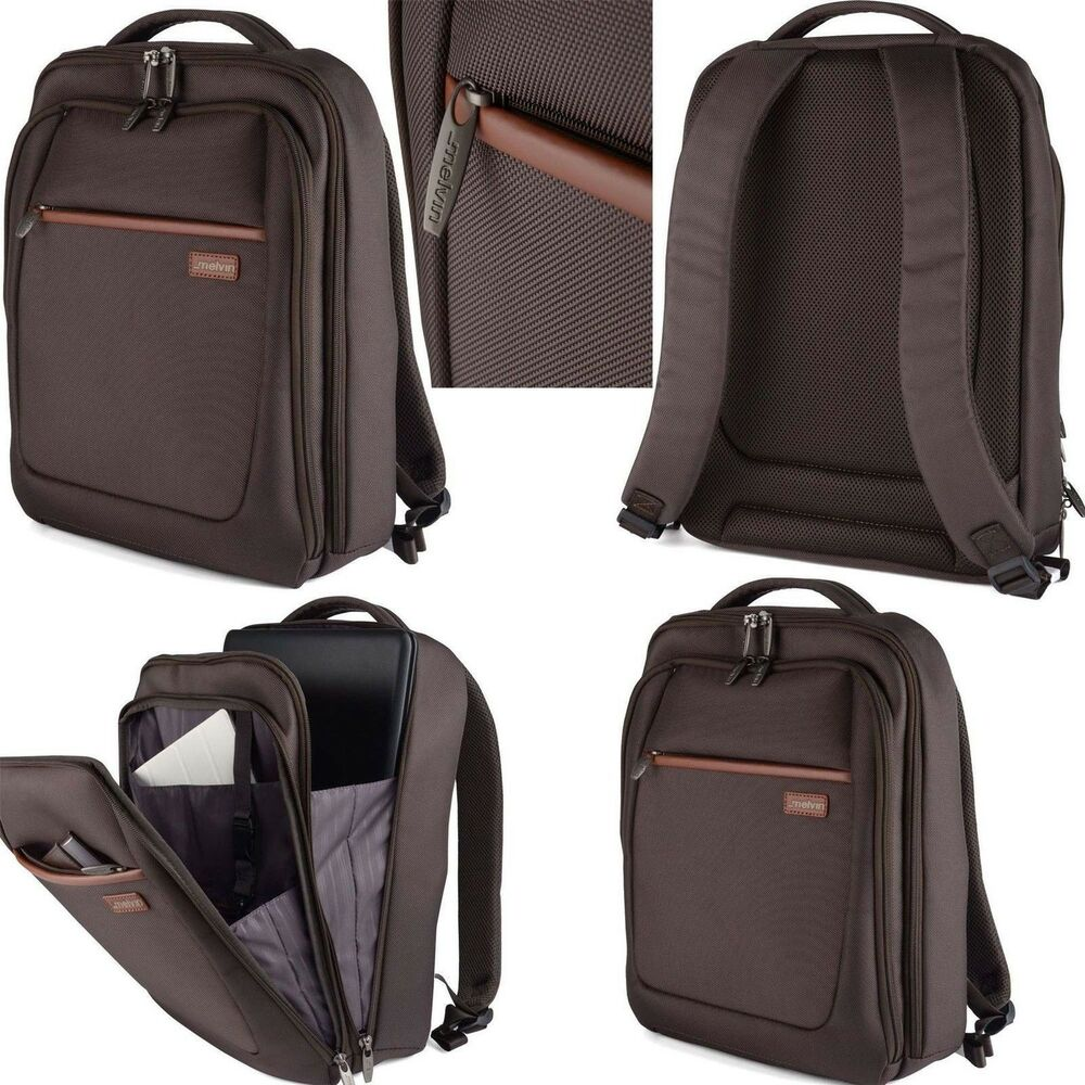 MELVIN Designer 13 15 Inch Laptop Tablet Backpack MacBook Bag ...