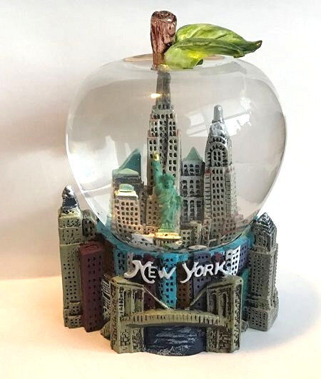 New york snow globe ebay new york city snow globe 25 inch 45mm skylines statue of liberty wg203 gumiabroncs Images