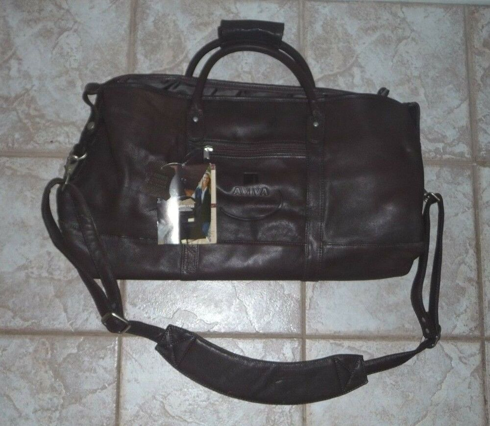 Aviva Canyon Outback 24 Inch Genuine Cowhide Leather