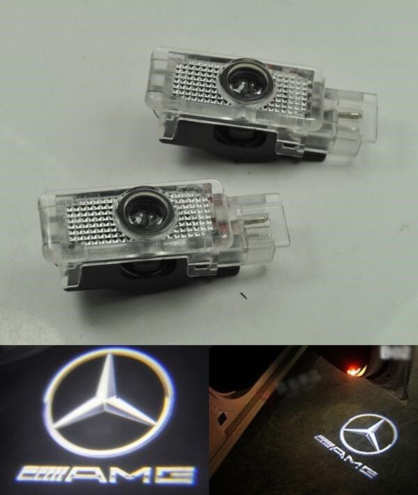 led door courtesy laser projector light mercedes benz w203