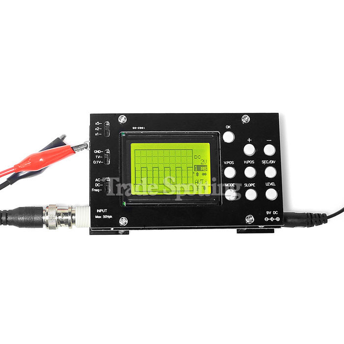 Dso digital oscilloscope mhz analog bandwidth msa s