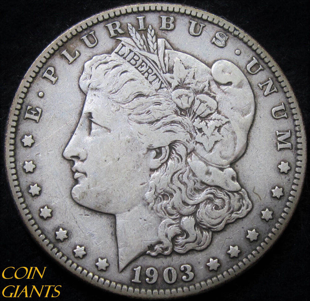 1903 S Morgan Silver Dollar Xf Key Date Coin San Francisco