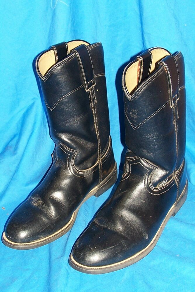 women s size 5 189 c justin roper boots cowboy western