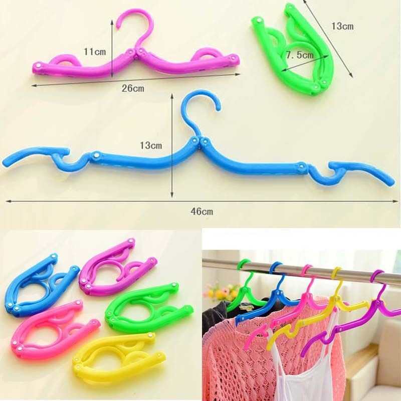 Laundry Hangers Clip Rack Baby Kids Children Trousers