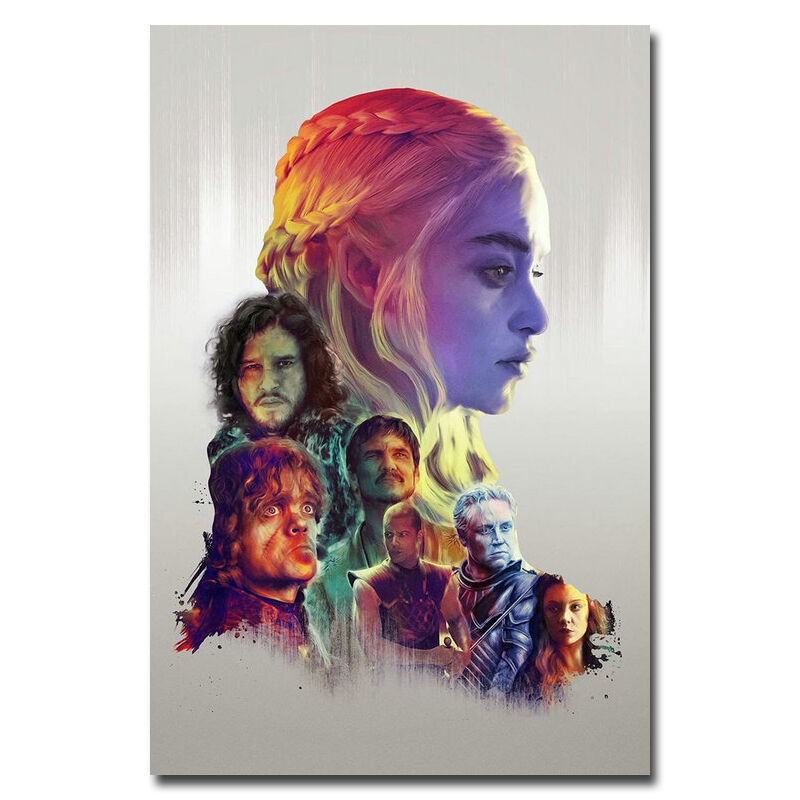 Game of thrones season 6 tv series art silk poster 13x20 for Decoration murale game of thrones