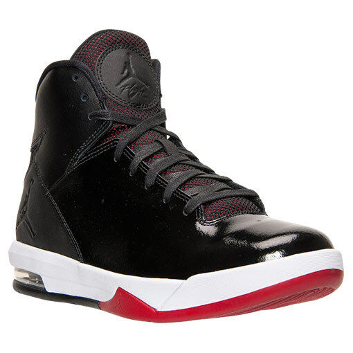 huge selection of 8b174 f20ef Details about 705077-001 Air Jordan Imminent Black Gym Red White Sizes  8.5-12 NIB