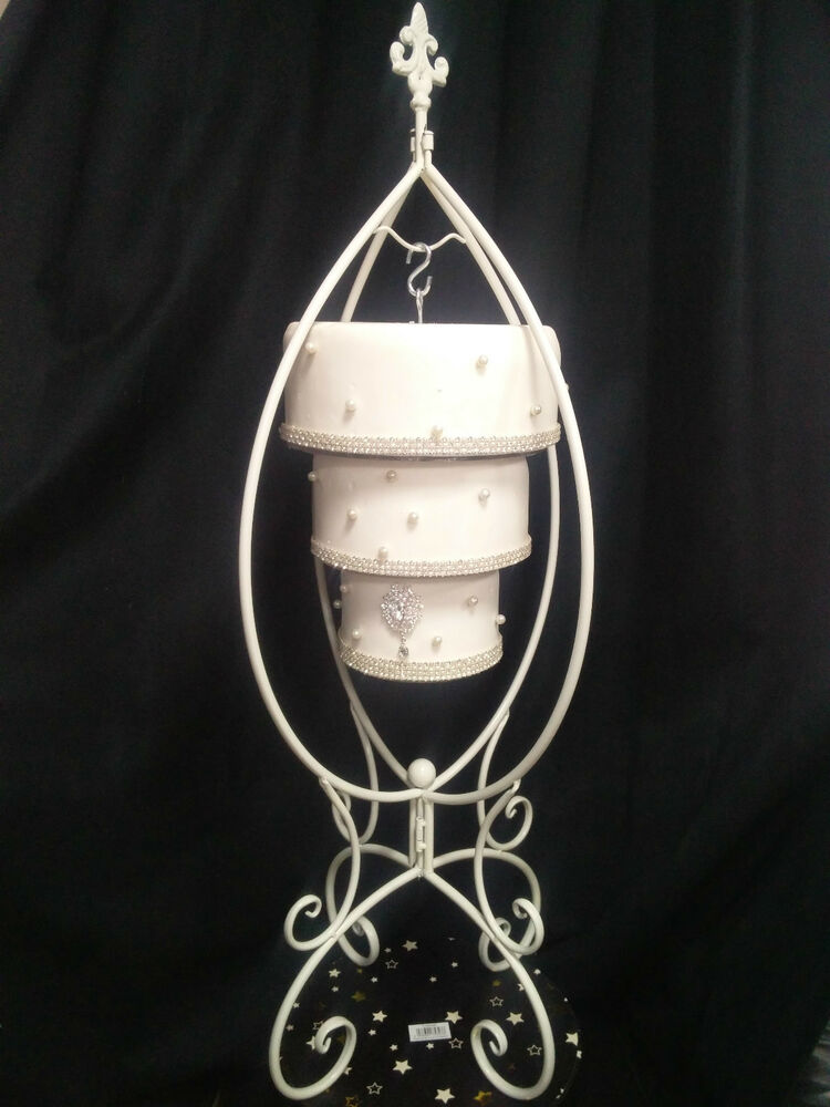 Upside Down Chandelier Cake Stand
