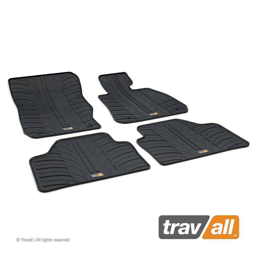 Travall Rubber Car Floor Mats Bmw X1 E84 2009 2015 Ebay
