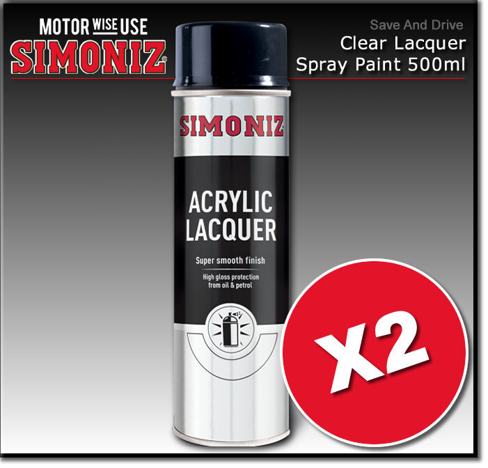 how to spray lacquer clear coat