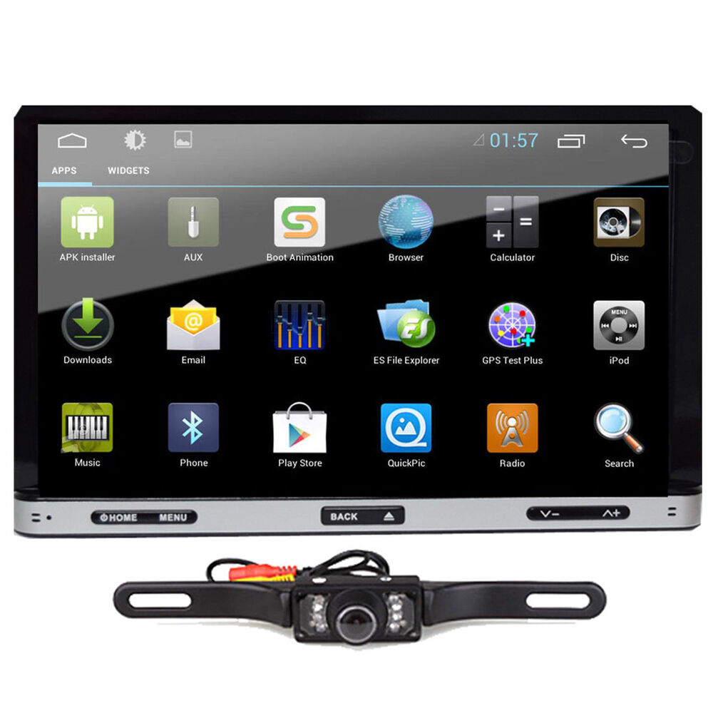 android 4 4 7 2din indash car dvd radio stereo player. Black Bedroom Furniture Sets. Home Design Ideas