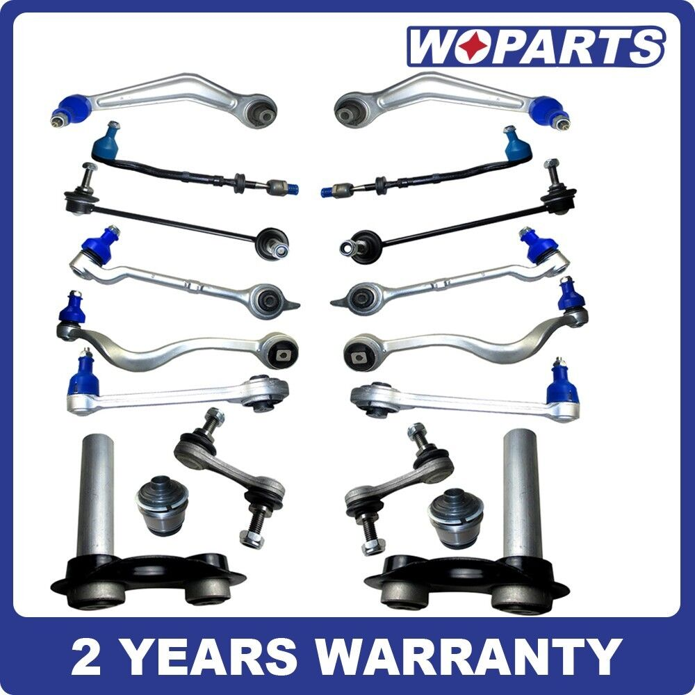 Bmw Front And Part Diagram: New Front Rear Suspension Control Arm Kit Fit For BMW 525i