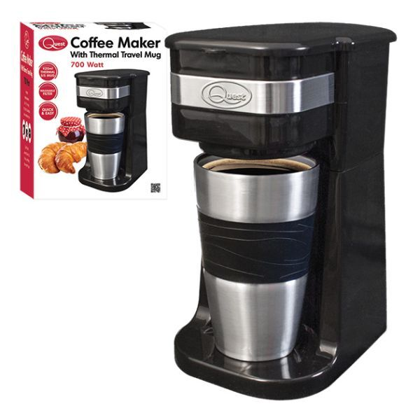 Coffee Maker Not Getting Power : 700W QUEST PORTABLE COFFEE MAKER WITH 420ML S/S THERMAL TRAVEL MUG HOT CHOCOLATE eBay