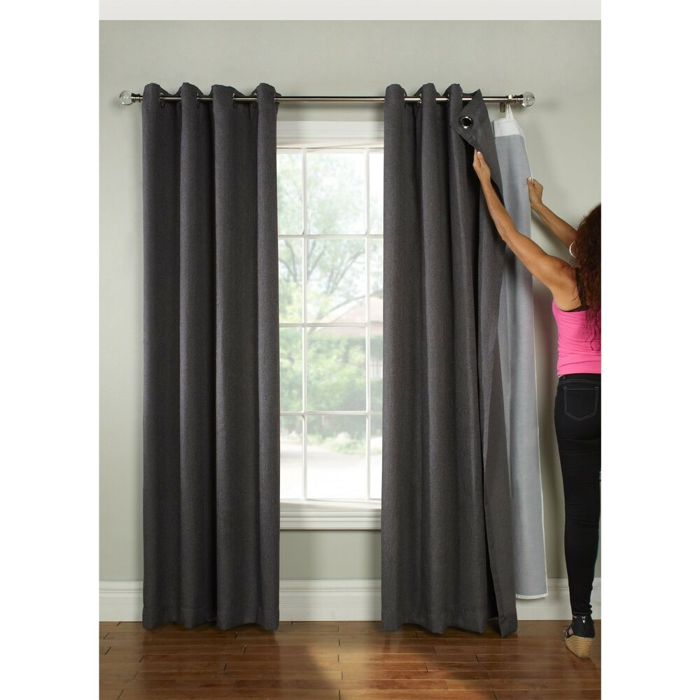 Thermalogic Universal Blackout Curtain Liner Ebay