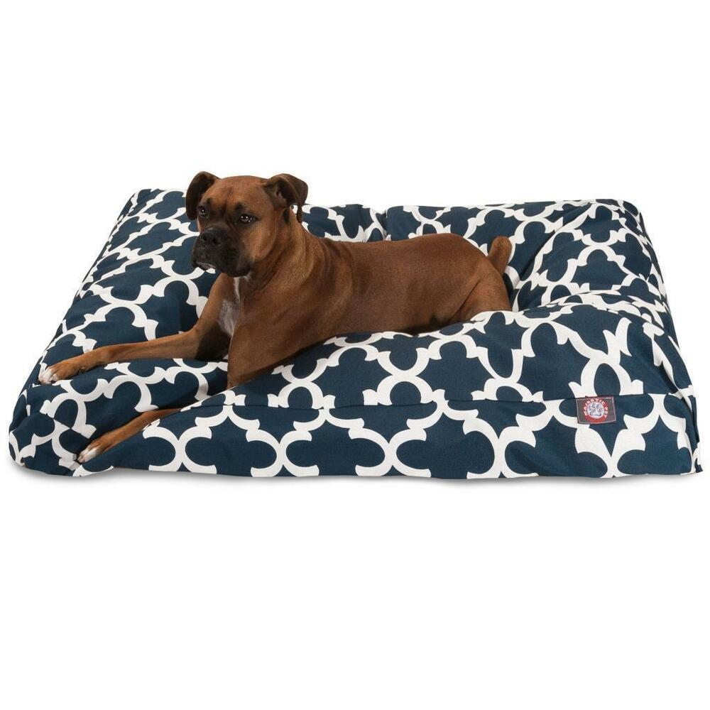Navy Dog Bed