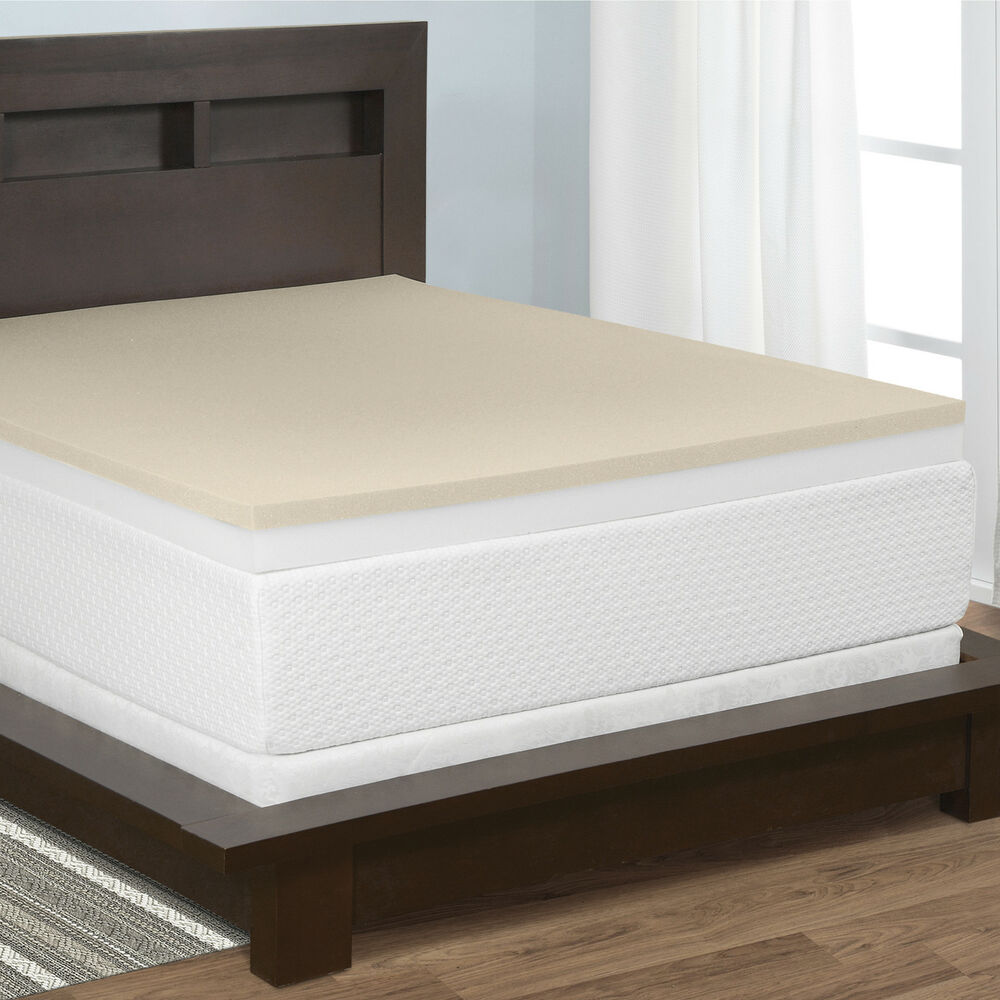 Select luxury 4 inch restore a mattress foam and memory foam mattress topper ebay Where to buy mattress foam