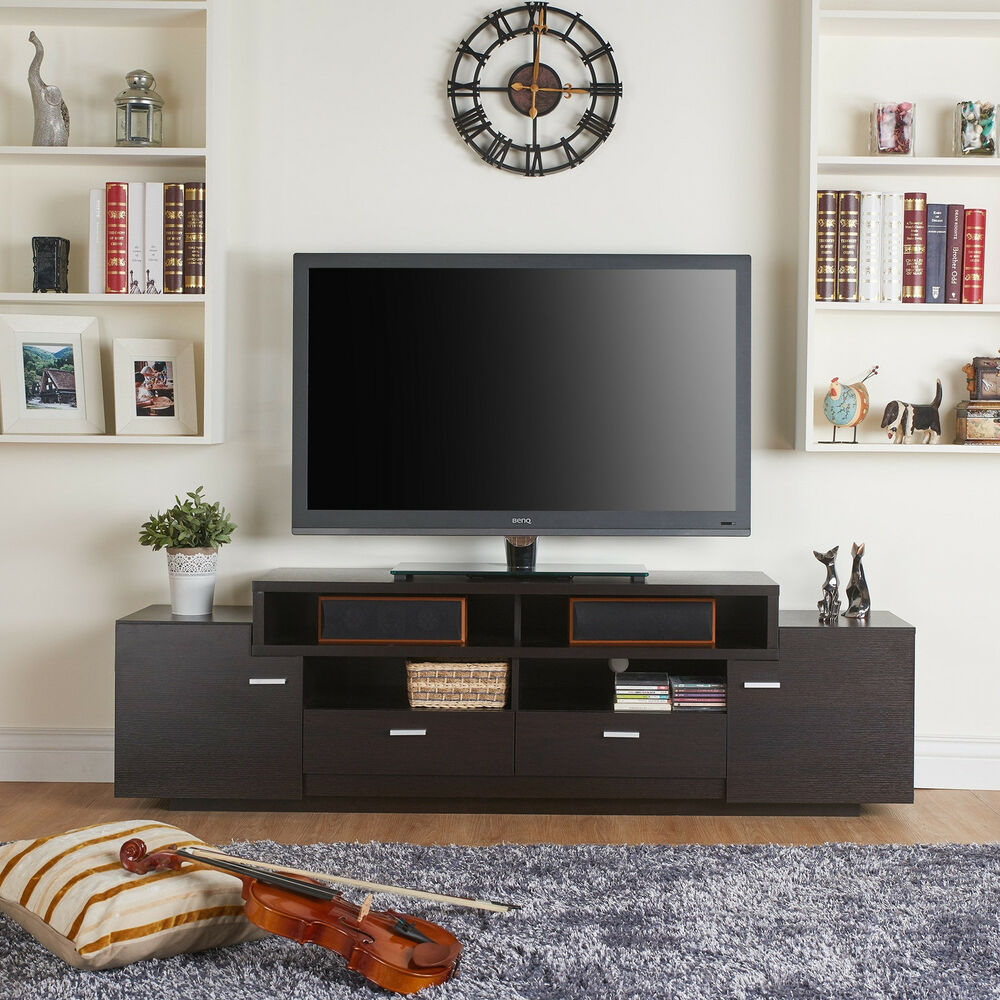 Furniture Of America 72 Inch Peyson Modern Tiered Tv Stand