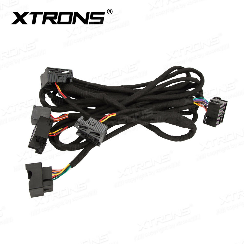 Wiring Harness For Mercedes Benz : Car stereo extra long meters iso wiring harness cable