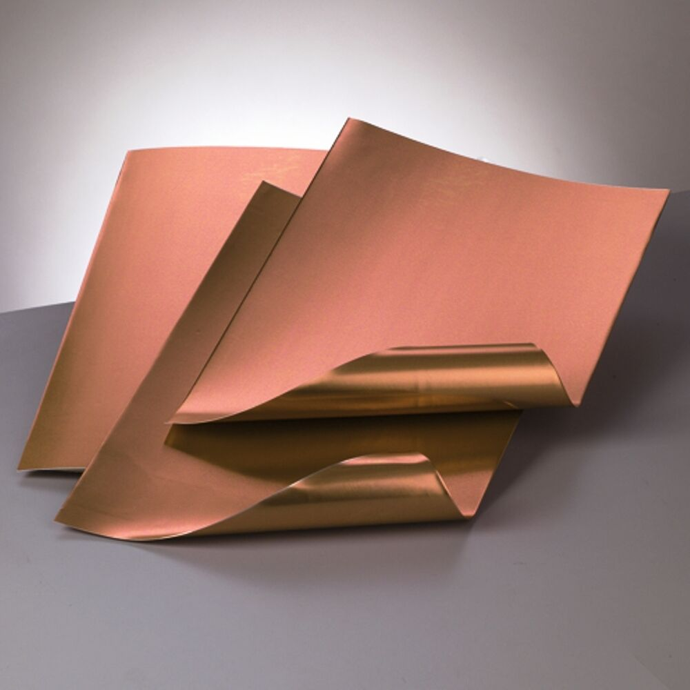 A4 Aluminium Embossing Metal Sheet Copper Copper 0 15 Mm