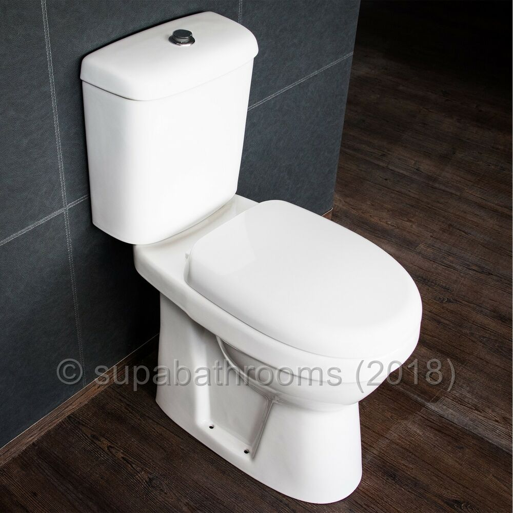 Comfort Height Toilet Raised Height Wc Elderly Disabled