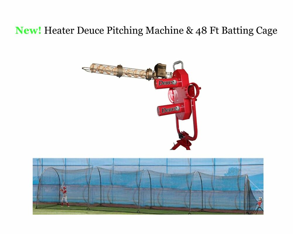 Heater Deuce Baseball Pitching Machine Amp 48 Ft Xtender