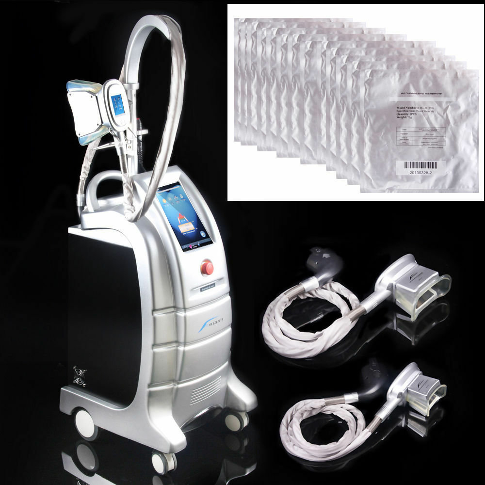 cold therapy fat freezing cellulite machine vacuum salon cooling slim membrane ebay. Black Bedroom Furniture Sets. Home Design Ideas