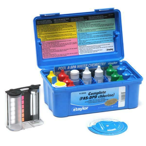 K 2006 Taylor Test Kit By Taylor Technologies Complete