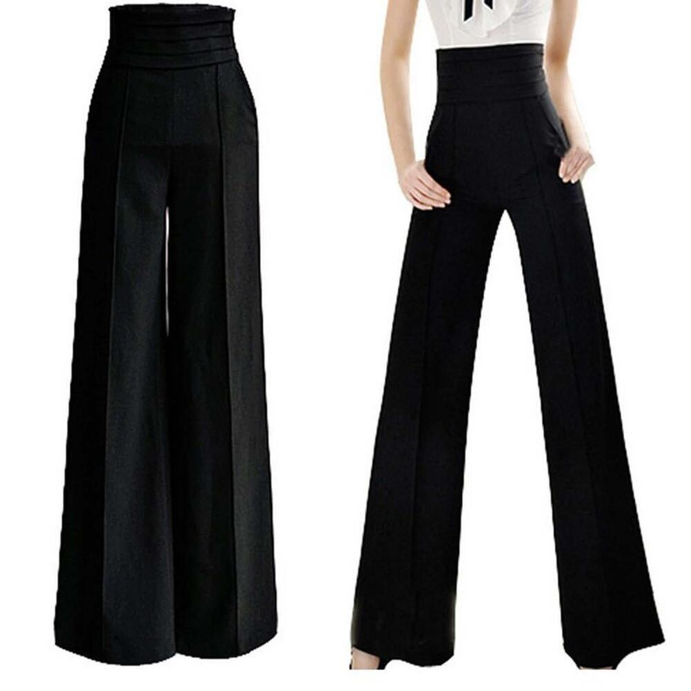 A pair of women's wide leg trousers always makes a fashion statement. A bright pair of palazzo pants in pink, red or mustard can be worn with a muted top for contrast, or try teaming your favourite wide leg culottes or cropped jeans with a sleeveless top for effortless summer style.