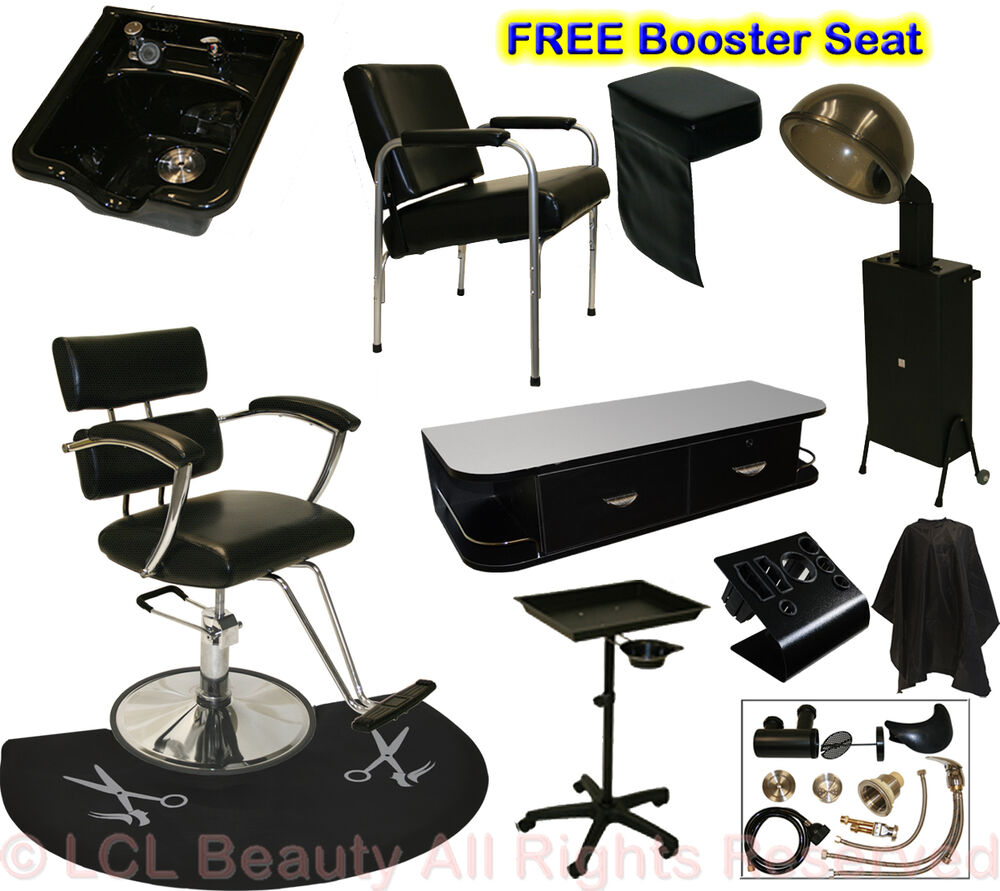Hair Dryer Station ~ Salon barber chair mat tray hair dryer wall mount station