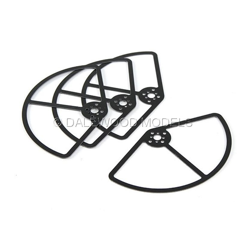 Propeller Guards Quad Fpv 250 Class Racer 5inch Set Of 4