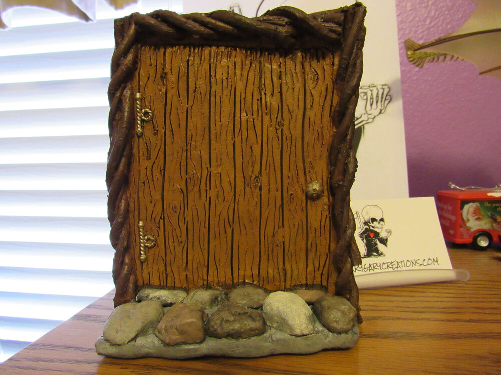Fairy door gnome door elf door doorway to middle earth for Large gnome doors