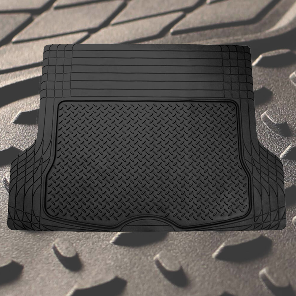 Trunk Cargo Floor Mats for Auto SUV Van All Weather Rubber