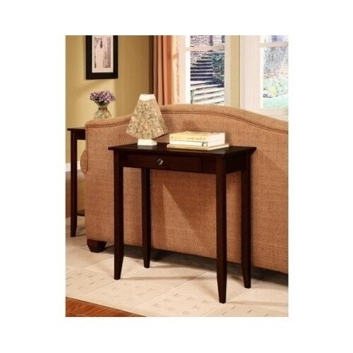 Entry hall foyer sofa home wood small console table Small entryway table