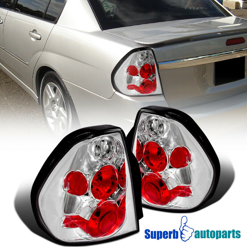 2004-2007 Chevy Malibu Replacement Tail Lights Brake Lamps