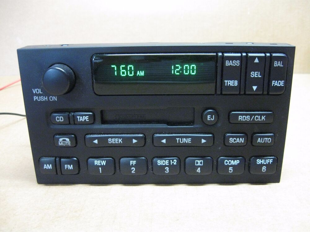 New Nissan Maxima >> 01 NISSAN QUEST CAR RADIO STEREO CASSETTE PLAYER. | eBay