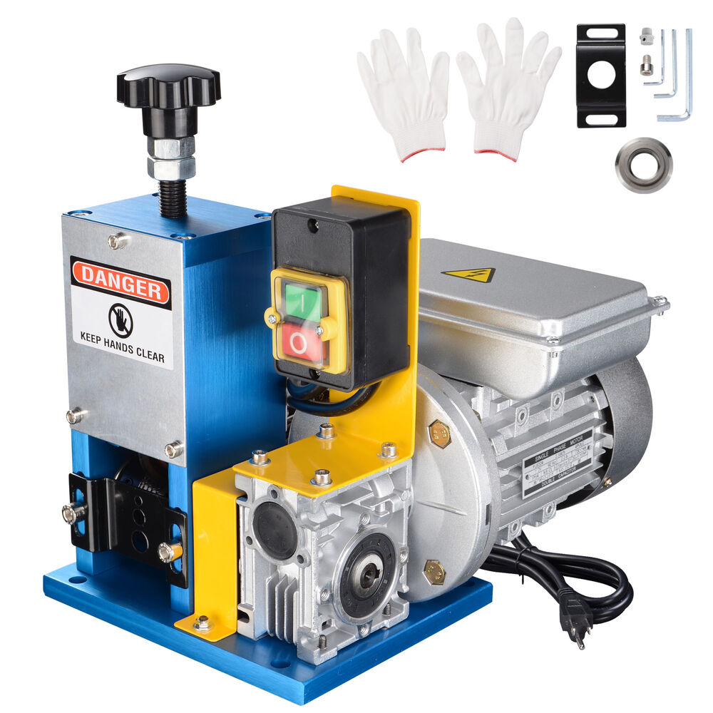 Portable Powered Electric Wire Stripping Machine Metal Tool Scrap ...
