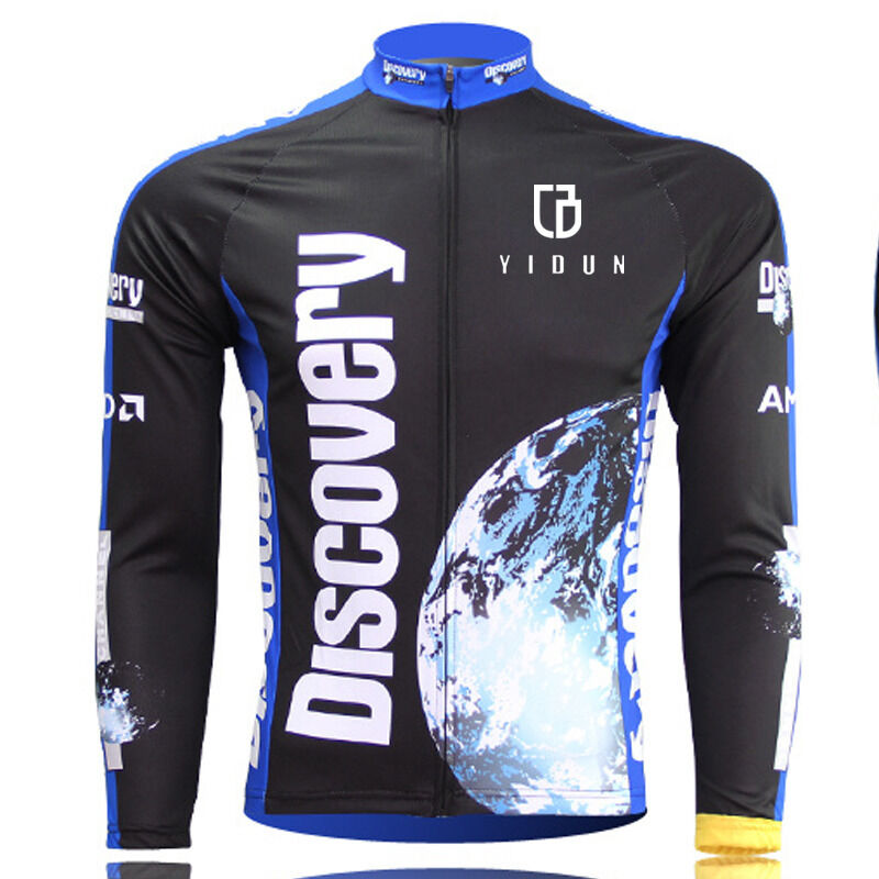 Discovery Long Sleeve Men's Cycling Jerseys MTB Road ...