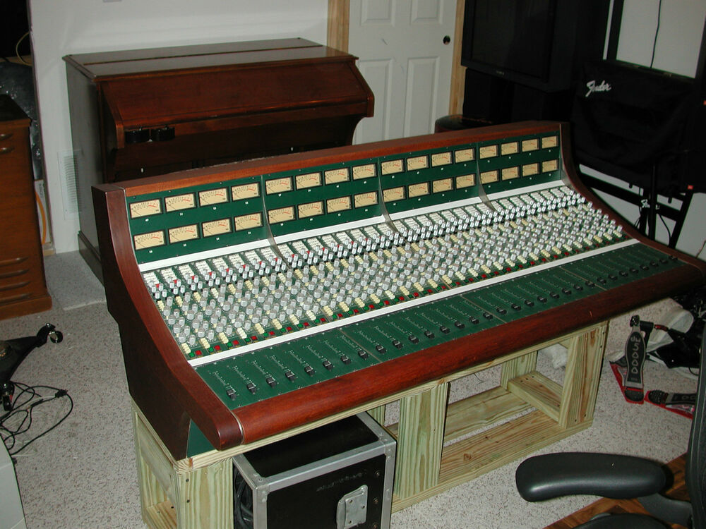 Daking 32 channel mic pre amp professional mixing console 1112 sidecar mint warr ebay - Professional mixing console ...