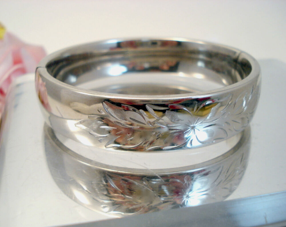 vintage fine craftmere jewelry sterling silver bangle
