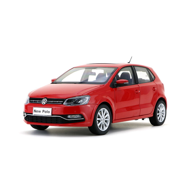 Original Model 1 18 Volkswagen Vw New Polo 2014 Red Ebay