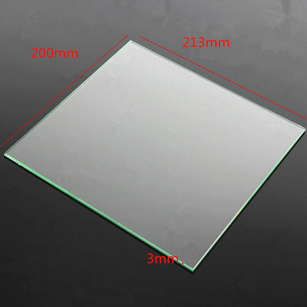 X Heated Bed Glass