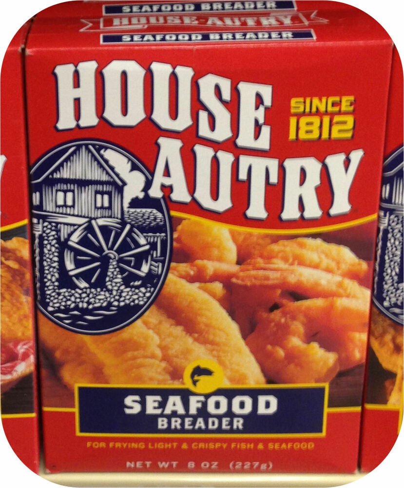 House autry southern seafood breader mix flour fried fish for How to fry fish with flour