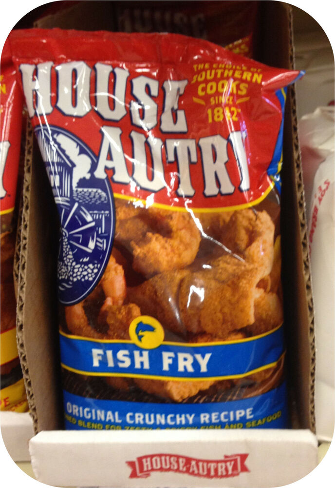 house autry seasoned fish fry bag mix fried crunchy