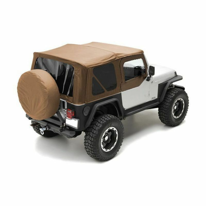 1997 2006 Jeep Wrangler Spice Replacement Soft Top