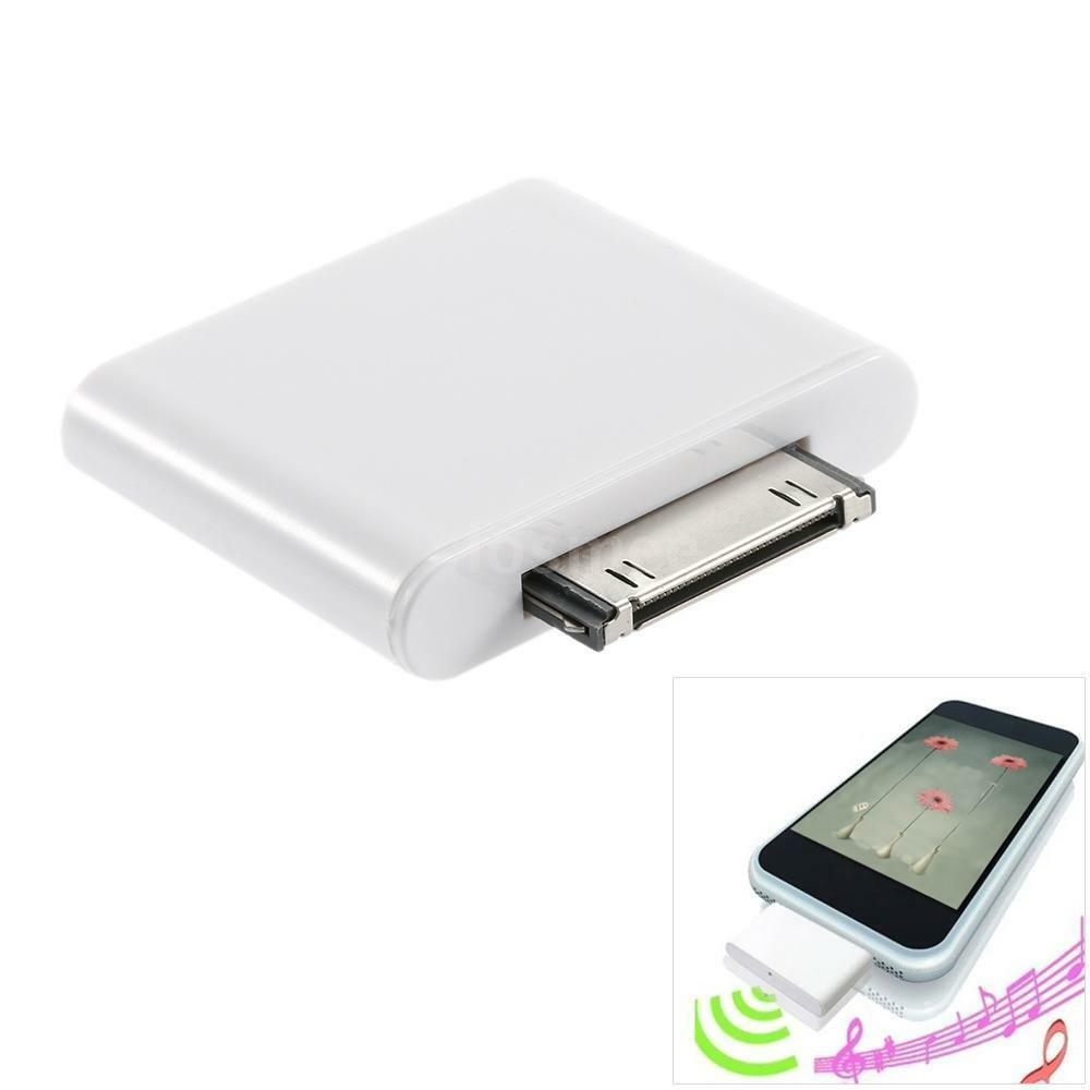 bluetooth adapter dongle transmitter 30pin for mini ipod. Black Bedroom Furniture Sets. Home Design Ideas
