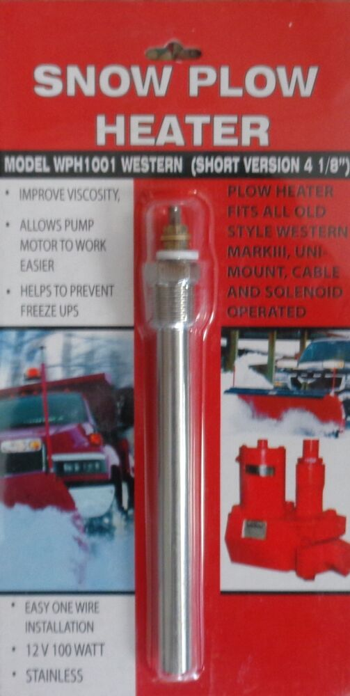 Car And Truck Shop >> SNOW PLOW HEATER power pack meyer WESTERN fisher | eBay