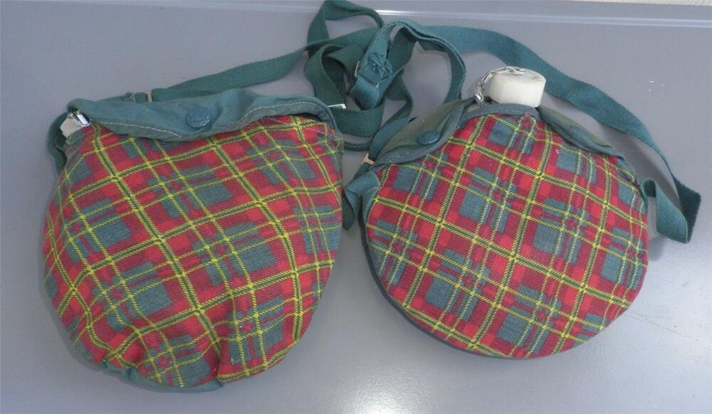 girl scout 1950 s vintage mess kit canteen camping or