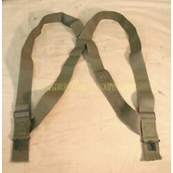 Kyпить M1950 Trouser Pant Suspenders Elastic OD Green US Military Surplus EXC на еВаy.соm